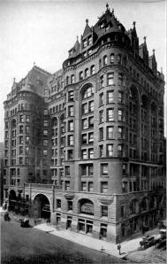 Woman's Temple, Burnham & Root, 1892.  La Salle & Monroe, demolished, 1926.