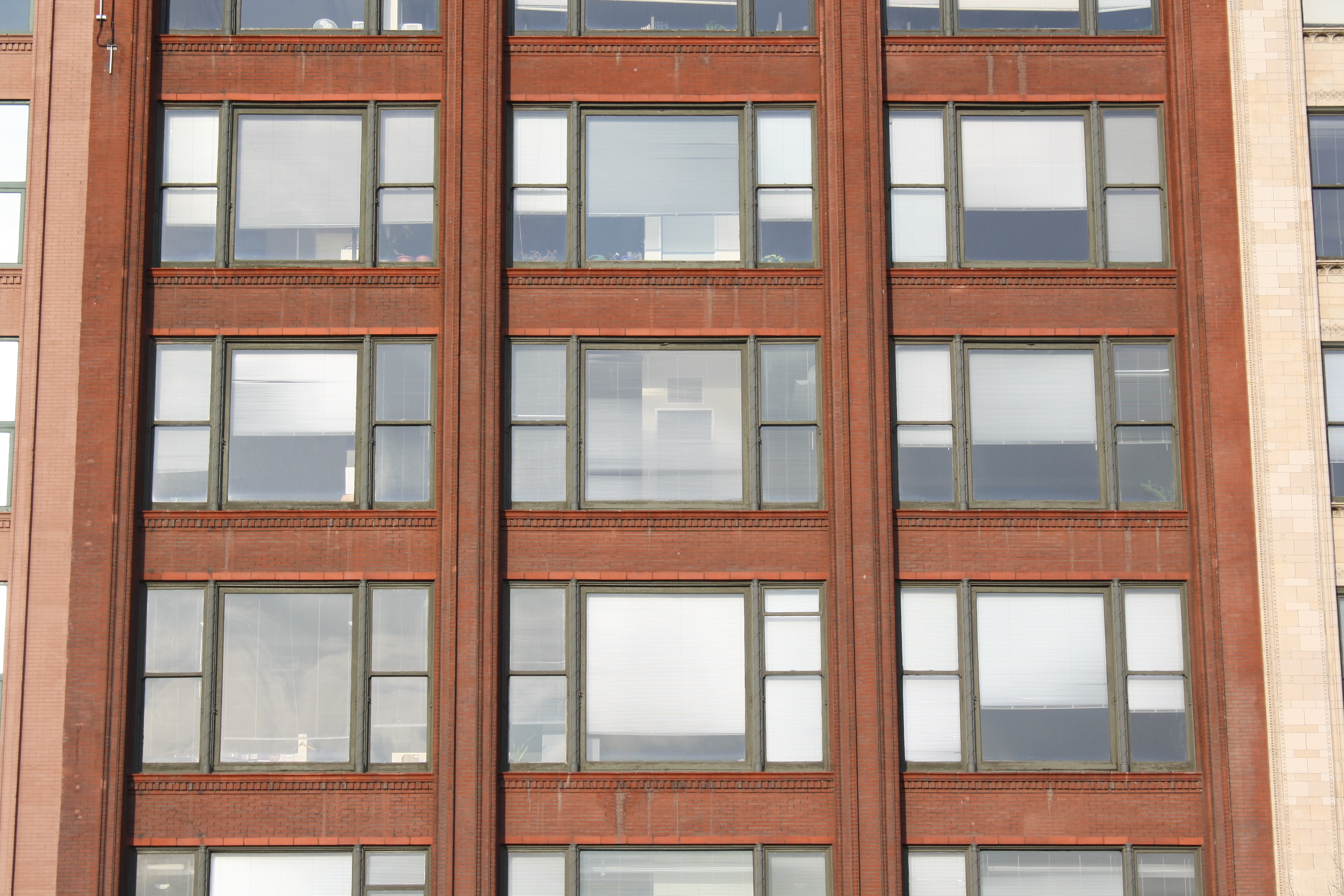 Chicago Frame Buildings Chicago Holabird Roche And - Building architectural windows