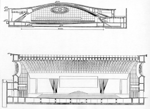 papal hall sections