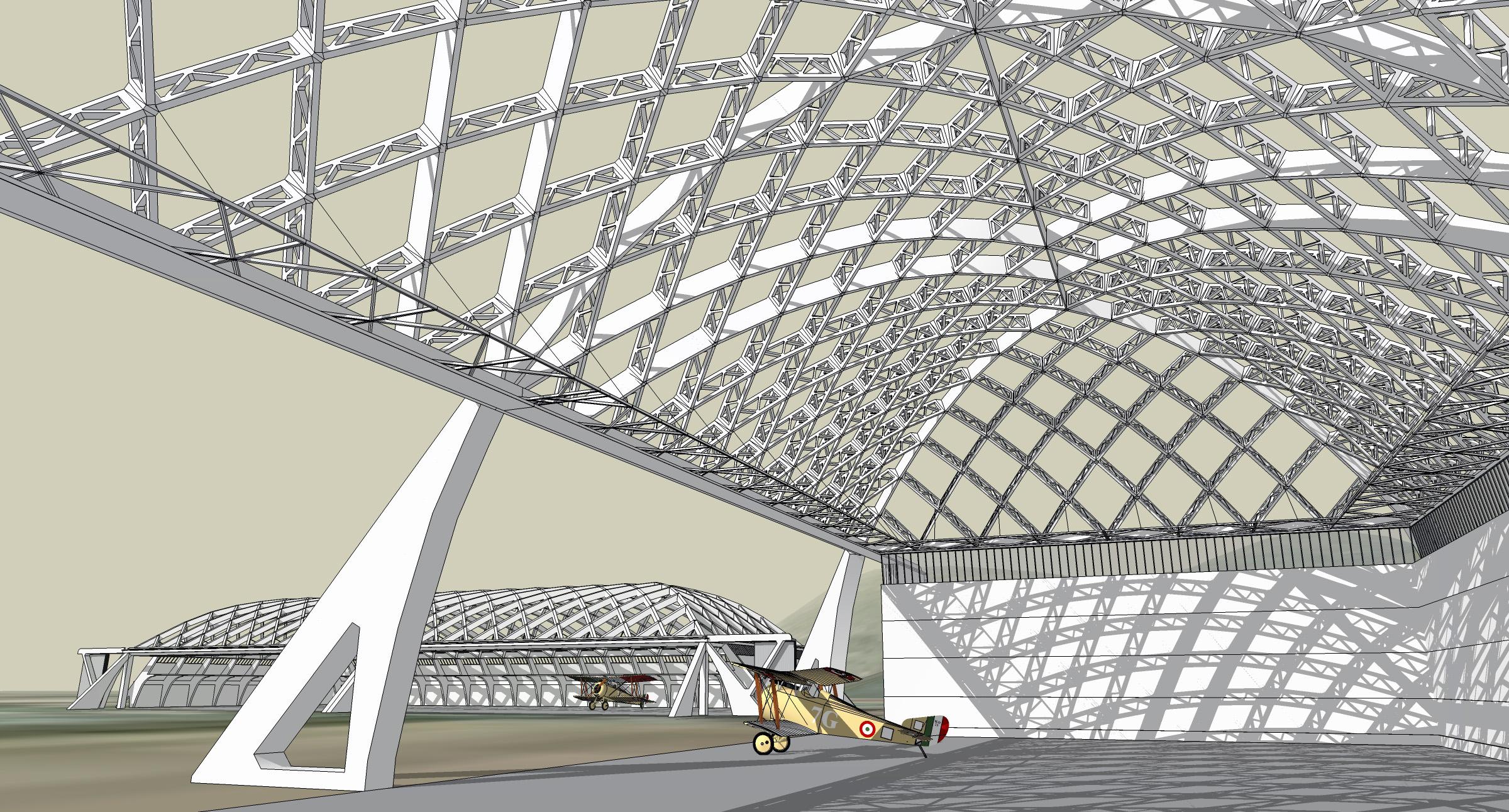 Nervi Hangars Architecturefarm