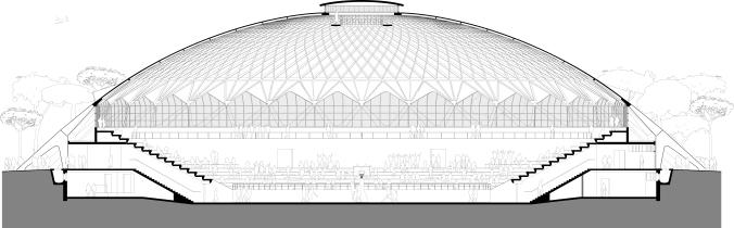 palazetto section